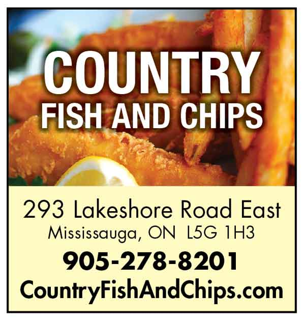Country Fish and Chips Lakeshore Art Trail ad 2017