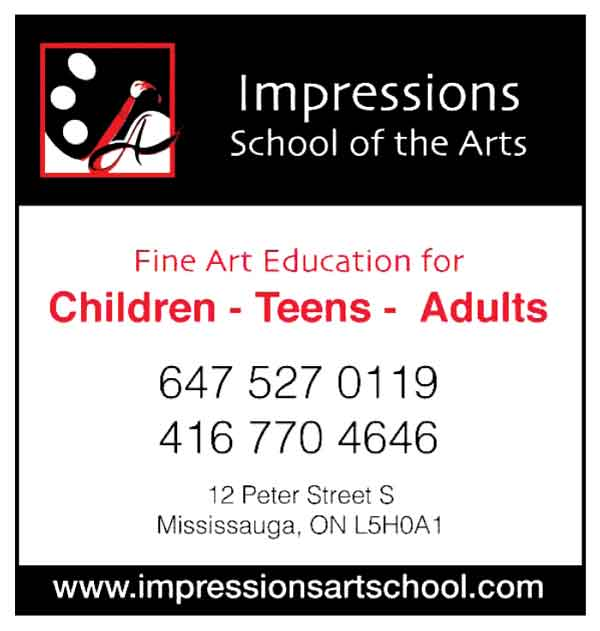 Impressions School of Arts Lakeshore Art Trail ad 2017