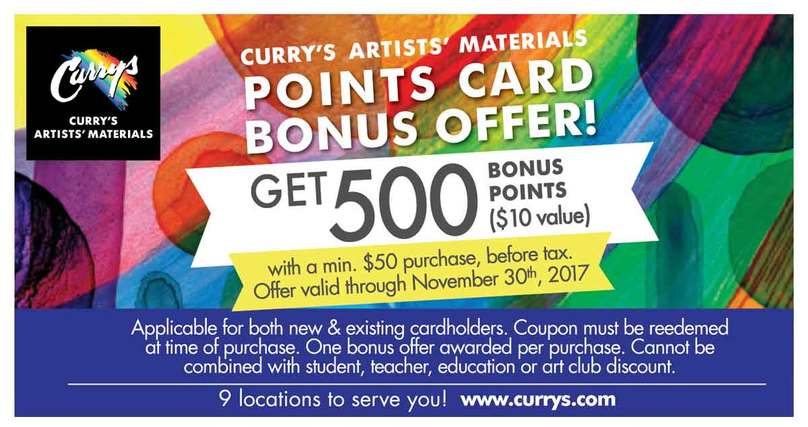 Curry's Lakeshore Art Trail ad 2017