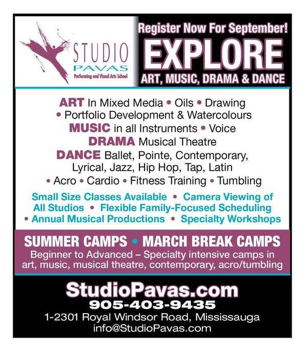 Studio Pavas Lakeshore Art Trail ad 2017