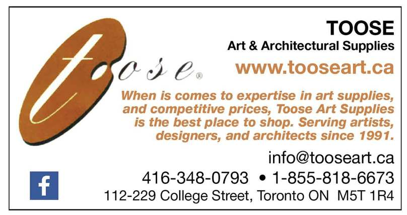 Toose Lakeshore Art Trail ad 2017